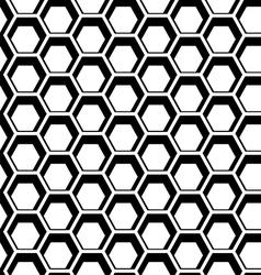 Seamless hexagon vector