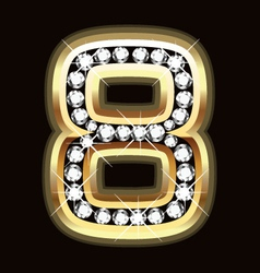 Eight bling vector