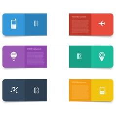 Flat design concept design vector