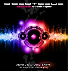 High tech music vector