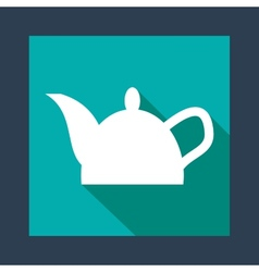 Kettle icon vector