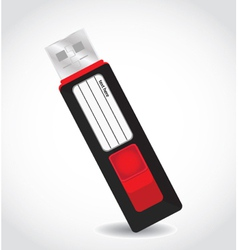 Usb hard drive vector