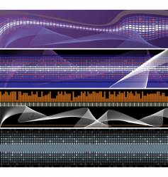 Abstract backgrounds for design vector