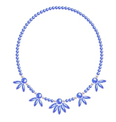 Necklace vector