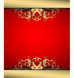 Ornate banner vector