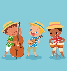 Trio band vector