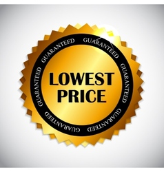 Lowest price label vector