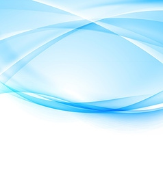 Contemporary hi-tech blue abstract modern layout vector
