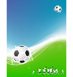 Football background for your design vector