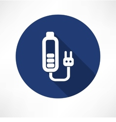 Battery charge icon vector