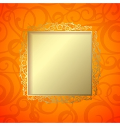 Border curves frame vector