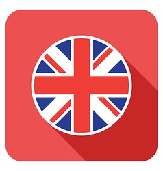 Flat britain icon vector