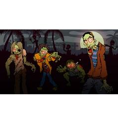 Zombie walk vector