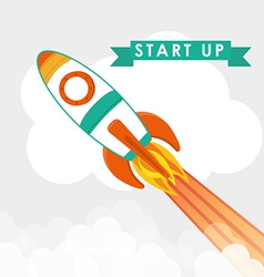 Start up business design vector