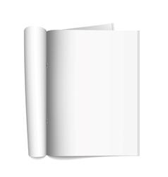 Open the paper journal vector
