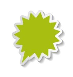 Speech bubbles stickers vector