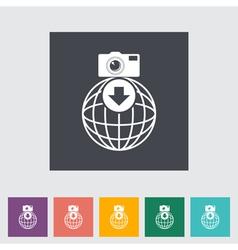 Photo download vector