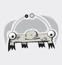 Cute monster vector