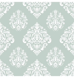 Damask seamless pattern orient background with vector