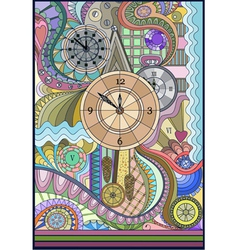 The clocks vector