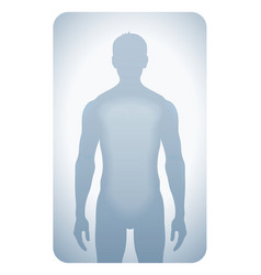Silhouetted man vector