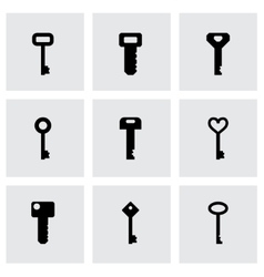 Key icon set vector