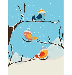 Winter design vector