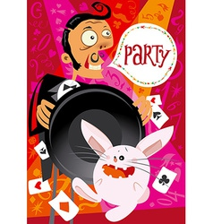Invitation to a party vector
