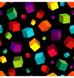 Cube pattern vector