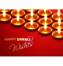 Diwali wishes vector