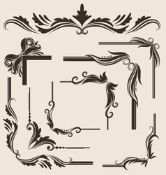Decorative-frame-set vector