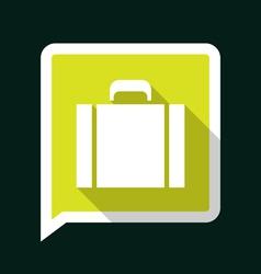 Briefcaselongshadow vector