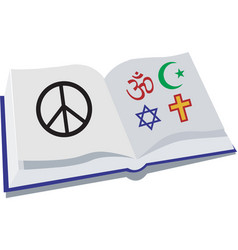 Peace religion vector