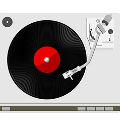 Vinyl player vector