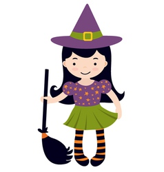Little witch vector