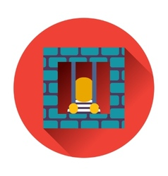 Prisoner icon vector
