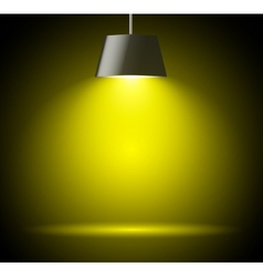 Abstract background with spot light vector