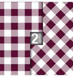 Table cloth italian purple seamless pattern set of vector