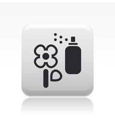 Flower spray icon vector