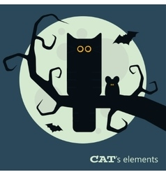 Cats elements vector