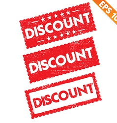 Stamp sticker discount tag collection - - e vector