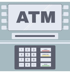 Atm user interface vector