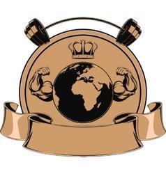 Design medals symbols vector
