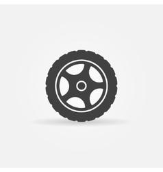 Tire icon or logo vector