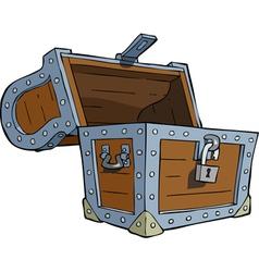 Open chest vector