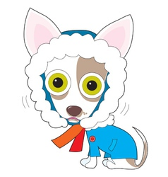 Chilly chihuahua vector