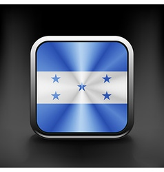 Honduras icon flag national travel icon country vector