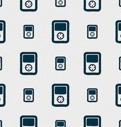Tetris video game console icon sign seamless vector