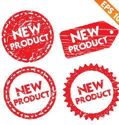 Stamp stitcker new product tag collection - vector