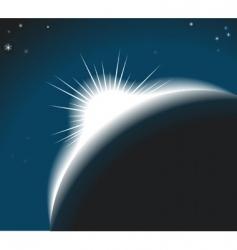 Sunrise background illustration vector